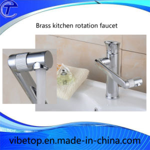 Newest Brass Kitchen Sink Rotatable Faucet/Water Tap/Mixer pictures & photos