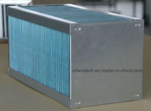 Cross Counterflow Aluminum Foil Air to Air Plate Heat Exchanger pictures & photos