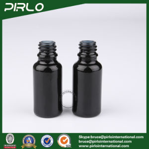 15ml Black Lightproof Glass Spray Bottles with White New Pump Sprayer pictures & photos