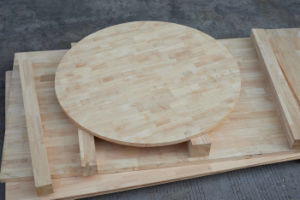 Circular Rubber Wood Finger Joint Panel