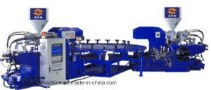 (Rotary energy saving) Two Color TPR. PVC Soles Machine pictures & photos