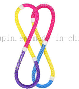 OEM Foldable Plastic Multifunctional Hula Hoop with Spring for Bodybuilding pictures & photos