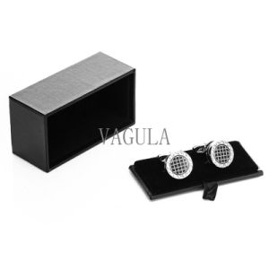 VAGULA Hot Selling Jewelry Display Box Tie Clip Box Cufflinks Case 16 pictures & photos