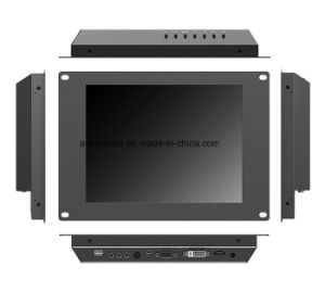 10.4 Inch Open Frame Industrial LCD Monitor with 5-Wire Resistive Touch pictures & photos