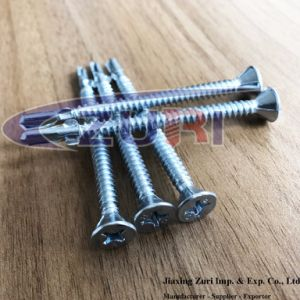 Countersunk Flat Head Screw with Wing pictures & photos