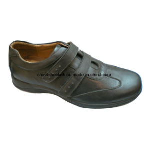 Men Work Shoes Comfort Shoe Loafer Shoe Leather Driving Shoe pictures & photos