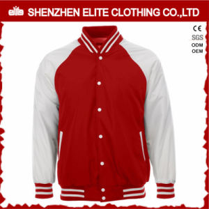 2017 Fashion Men Polyester Buttons Varsity Jacket (ELTBQJ-536) pictures & photos