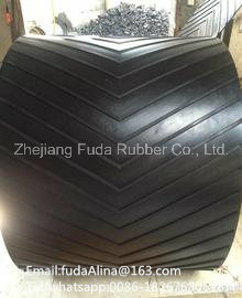 Rubber Coated Pattern V Conveyor Belt Supplier pictures & photos