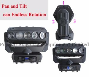 15PCS 12W RGBW 4in1 CREE LED Moving Head Beam Light pictures & photos