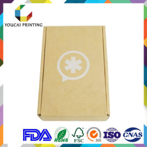 Custom Made Foldable Corrugated Fluted Box with Colour Print for Product Packaging