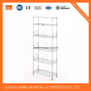 Collapsible Pallet Racking Accessories Decking Wire Mesh Decks for Bahrain pictures & photos