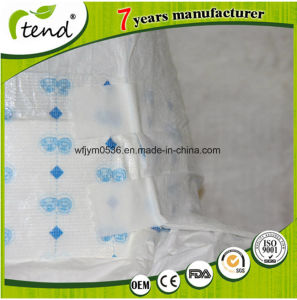 Refastenable Square Magic Tape Printed Design Adult Diaper pictures & photos