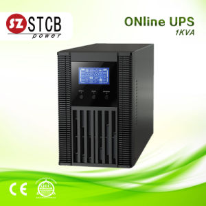 Small Size Online UPS 1kVA 220V with 2PCS 12V 9ah Batteries pictures & photos