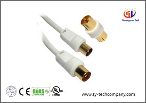 1m RF Fly Lead Coaxial Aerial Cable pictures & photos