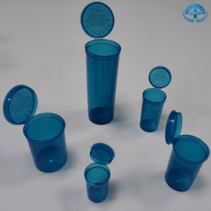 Pop Top Squeeze Bottles 19 DRAM Prescription Rx Medical Containers pictures & photos