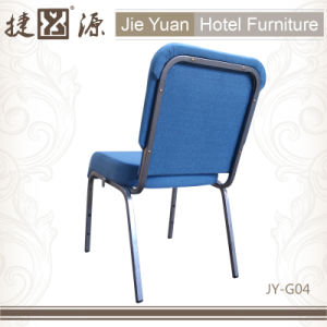 Stackable Metal Hotel Furniture Church Chair (JY-G04) pictures & photos