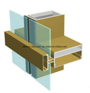 Jm110 Series Curtain Walls Aluminium Alloy Extrusion Profile for Door and Window pictures & photos