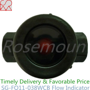 1/2 Inch NPT Female Thread Gas Sight Flow Indicator Ball Type pictures & photos