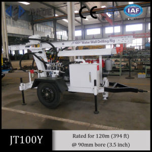 Jt100y Portable Drilling Rig Water Well Drilling Machine pictures & photos