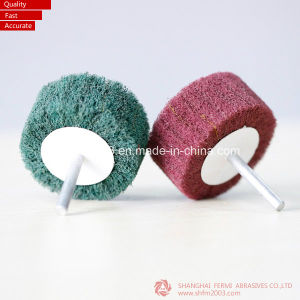 50*25*6mm, Non Woven Aluminium Oxide Flap Wheel for Polishing Steel pictures & photos