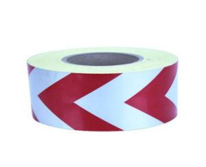 5cm Width High Intensity Grade Glass Beads Reflective Red Arrow Tape for Road Safety Sign pictures & photos