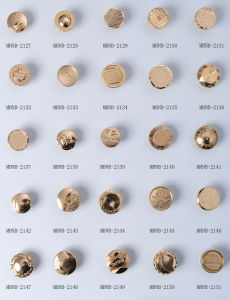 China Manufacturer of Zinc Alloy Jeans Button pictures & photos