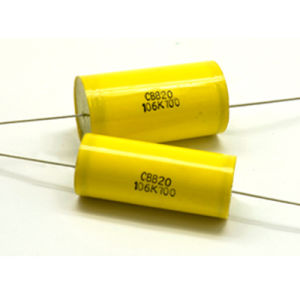 1UF/1500V Axial Metallized Polypropylene Film Capacitor (CBB20) pictures & photos