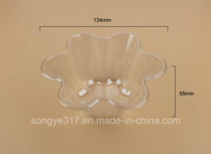 Transparent Hexagonal Ice Cream Blister Bowl pictures & photos