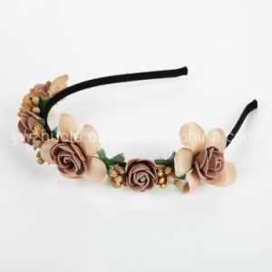 Fashion Artificial Flower Headband for Girls