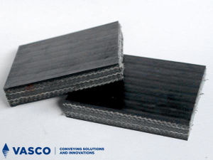 Burning Resistant Solid Woven Conveyor Belts (PVC/PVG) for Underground Mining pictures & photos