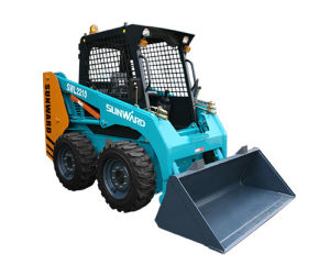 Hot Sale Wheeled Skid Steer Loader with Good Quality pictures & photos