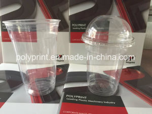 on-Line Extruder with High Speed Cup Thermoforming Machine (PPTF-70T) pictures & photos