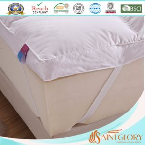 5% Goose Down Thick Goose Feather Mattress Topper pictures & photos