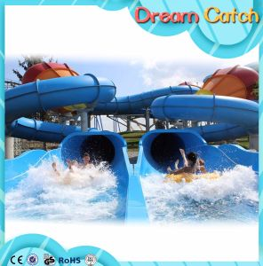 Colorful Race Water Slide Used for Water Park pictures & photos