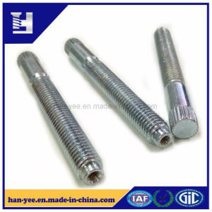 Insert Thread Nut Knurling Bolt with Partial Thread pictures & photos