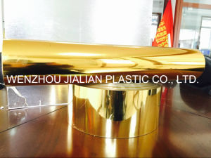 PVC Metalized Film /Gold PVC Film for Vacuum Forming pictures & photos