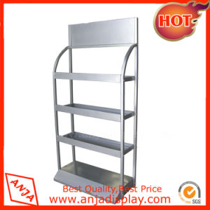 Stainless Steel Wire Food Display Shelving Unit pictures & photos
