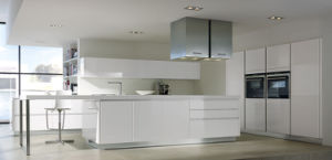 Modern UV High Glossy Kitchen Cabinet Prima (PR-K2155) pictures & photos