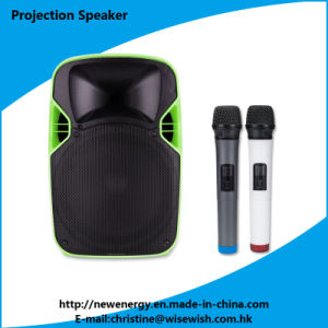ODM Plastic PA System Loudspeaker LED Projector pictures & photos
