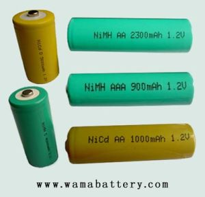 Top Selling Rechargeable Ni-MH AA 2400mAh 12V Battery