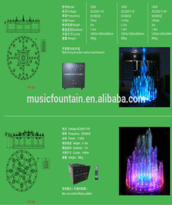 Resin Basin Colorful Music Dancing Outdoor Indoor Water Fountain pictures & photos