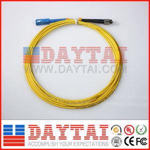 Single Mode Fiber Cable Sc-FC Simplex Patch Cord pictures & photos