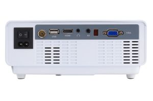 Yi-810 Portable Projector HD 1080P LED Micro Projector with HDMI / USB/ VGA / AV /TV pictures & photos