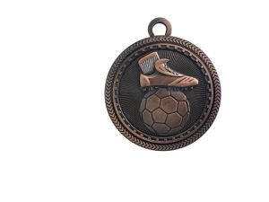 Die Casting Antique Bronze Plated Football Challenge Medal pictures & photos