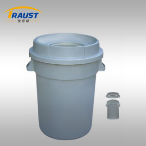 80L, 120L Round Dustbin Box/Medical Waste Bin/Plastic Garbage Container pictures & photos