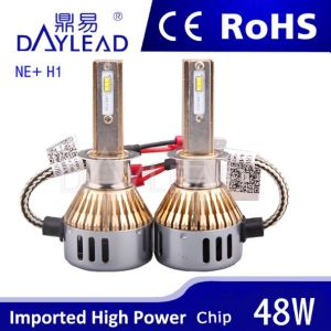 6000k 4800lm LED Headlight with Ce RoHS ISO9001 Certificate