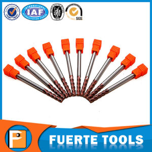 HRC60 High Quality Tungsten Steel Cutter 4flutes pictures & photos