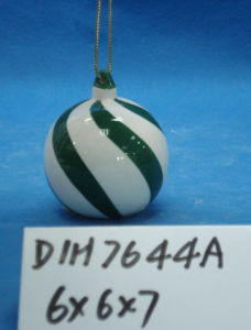 Ceramic Snowman Bauble for Christmas Tree Decoration pictures & photos