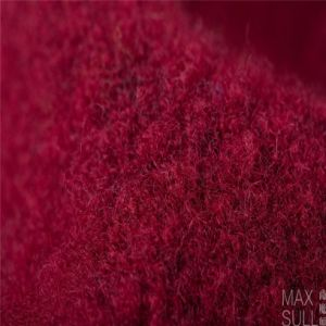 Yark Hair and Wool Fabric with Knitted for Winter in Red pictures & photos