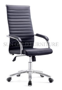 High Back and Genuine Leather Swivel Executive Office Chair (SZ-OCE161) pictures & photos